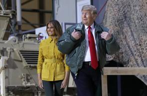 ترامب وزوجته يصلان العراق في زيارة مفاجئة وغير معلنة