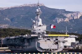 """فرنسا ..حاملة الطائرات """"شار ديغول """" تتوجه الى سوريا"""