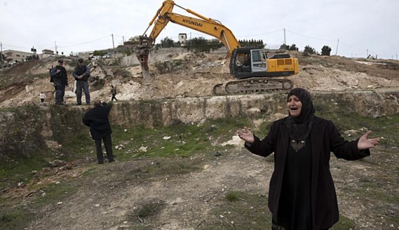 الاحتلال يصادر  آلاف الدونمات جنوب نابلس