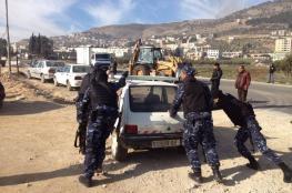 الشرطة تتلف آلاف المركبات وتقبض على أكثر من 3 آلاف مطلوب