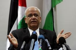 عريقات : يجب على العالم استخدام نفوذه ضد اسرائيل