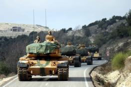 رغم الهدنة ..الجيش التركي يرسل مئات الدبابات الى ادلب