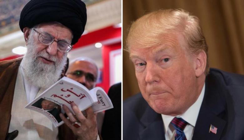 """ترامب يفرض عقوبات مشددة على ايران تطال """"المرشد خامنئي """""""