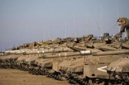تعزيزات عسكرية اسرائيلية على الحدود مع لبنان