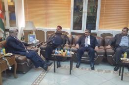 وزير الاوقاف الفلسطيني ييبحث مع نظيره الاردني سبل التعاون المشترك