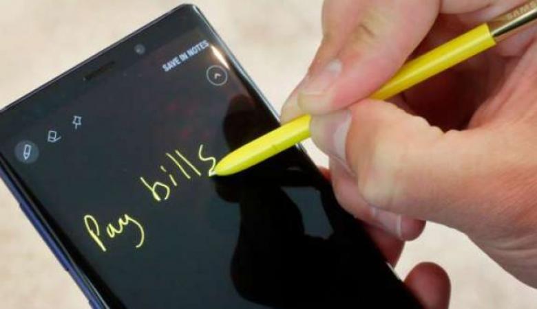 """قلم سامسونج في """"نوت 9 """" يليق بهؤلاء المستخدمين فقط"""
