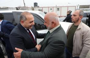 الوفد المصري ووزراء من الحكومة الفلسطينية يصلان غزة