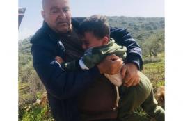 مستوطنون يحاولون اختطاف طفل  شمال رام الله