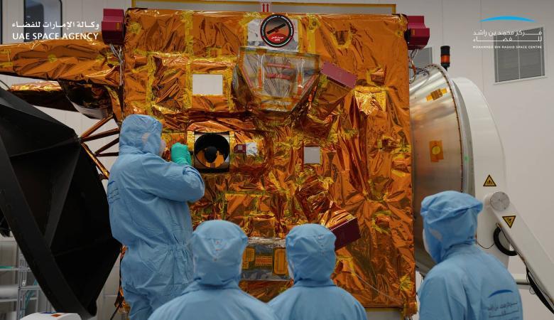 """الإمارات تطلق """"مسبار الأمل"""" لإقامة أول مستوطنة بشرية على المريخ"""