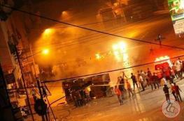 اصابة 51 مواطنا بينهم اربعة أطفال رضع في اقتحام المستوطنين لنابلس