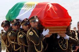 سخط شعبي على خلفية لف جثمان الرئيس العراقي بالعلم الكردي