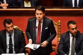 رئيس الورزاء الايطالي يستقيل من منصبه على خلفة ازمة سياسية