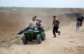 مسيرة العودة بقطاع غزة