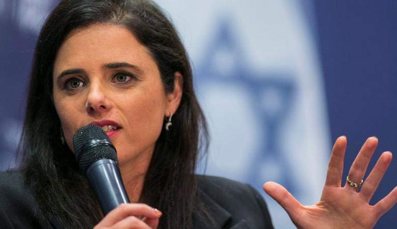 وزيرة اسرائيلية  متطرفة : لن اكشف لكم ماذا سأفعل بغزة وحماس