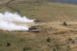 الجيش اللبناني يتصدى لدبابات اسرائيلية على الحدود