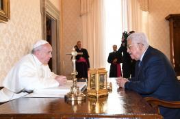 الرئيس يجتمع مع بابا الفاتيكان