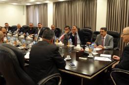 الحمد الله يبحث مع اتحاد البلديات سبل تطوير الخدمات المقدمة للمواطنين