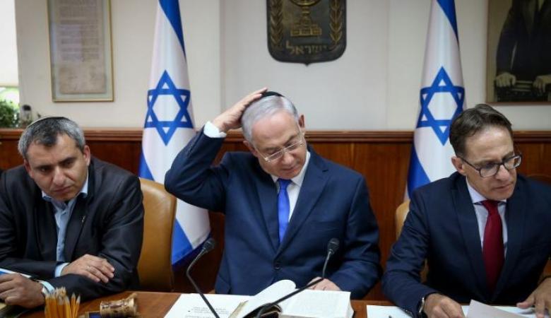 """نتنياهو يهدد بـ""""ضربة ساحقة"""" لقطاع غزة"""