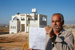 الاحتلال يخطر مواطنين بوقف البناء في منزلهم شمال طولكرم