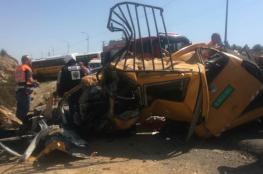السائق وأم وأطفالها.. الشرطة تعلن هوية ضحايا حادث السير قرب رام الله