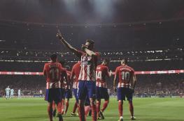 أتلتيكو مدريد يوقف مسلسل انتصارات برشلونة في الليغا