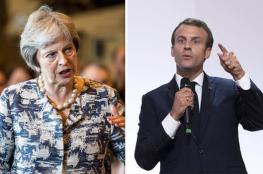 ماكرون: لا تفاوض جديد على اتفاقية خروج بريطانيا من الاتحاد الاوروبي