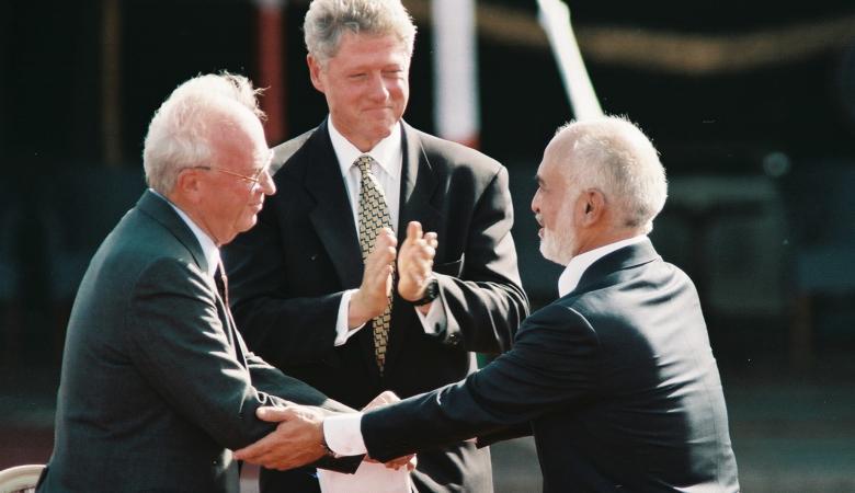 """""""إسرائيل"""": ليس للأردن أهلية بإلغاء اتفاقية السلام"""