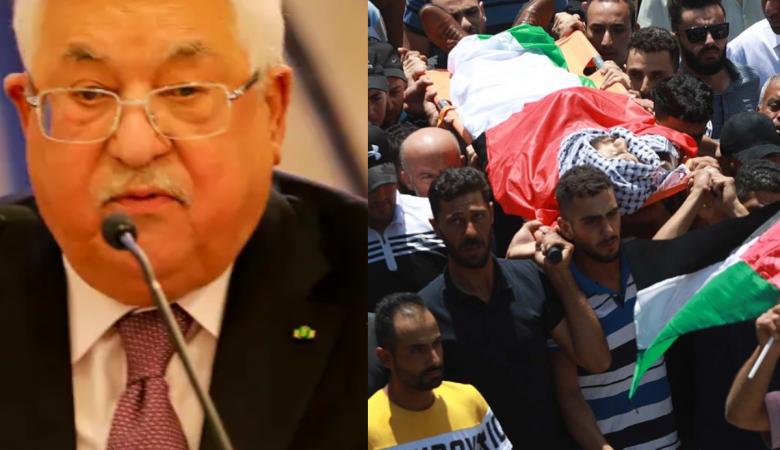 """الرئيس يعزي عائلة """"ابراهيم ابو يعقوب """" باستشهاده"""