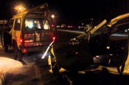 بسبب الأمطار.. 9 إصابات إحداها خطيرة بحادث سير بين 3 مركبات غرب الخليل