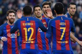 برشلونة للتحليق بالصدارة وفالنسيا لتشديد الخناق