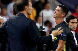 لاعب يوفنتوس عن  بكاء رونالدو الطفولي : نحن لسنا نساء