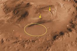 ناسا تكتشف جسماً غريباً ولامعاً على سطح المريخ (صورة)