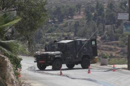 جيش الاحتلال يغلق  مداخل مدينة نابلس
