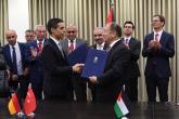 """توقيع اتفاقية لتنفيذ أعمال البنية التحتية لمشروع """"منطقة جنين الصناعية الحرة"""""""