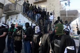 اصابة مسلحين في اشتباكات مع الامن الفلسطيني ببلاطة