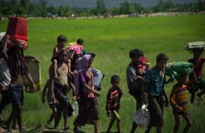 مسلمو الروهينغا يواصلون الفرار من جيش ميانمار