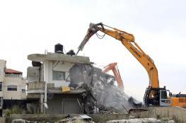 """الاحتلال يخطر بهدم 11 منزلاً في  """"جيت """" شرق قلقيلية"""