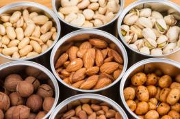 دراسة : تناول المكسرات يحمي من الاصابة بأمراض القلب