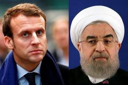 """الرئيس الفرنسي يحذر ايران من """"العواقب الوخيمة """""""
