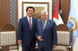 الرئيس يثمن الدعم الياباني لفلسطين