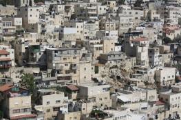قوات الاحتلال تجبر عائلة مقدسية على هدم جزء من منزلها في سلوان