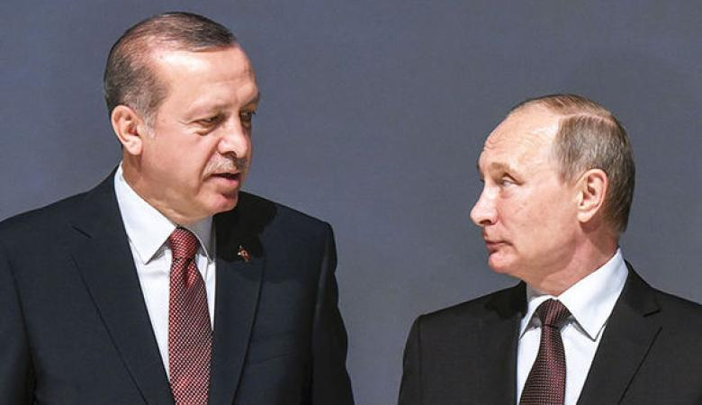 أردوغان سيبحث مع بوتين القرار الأمريكي حيال القدس مساء الخميس