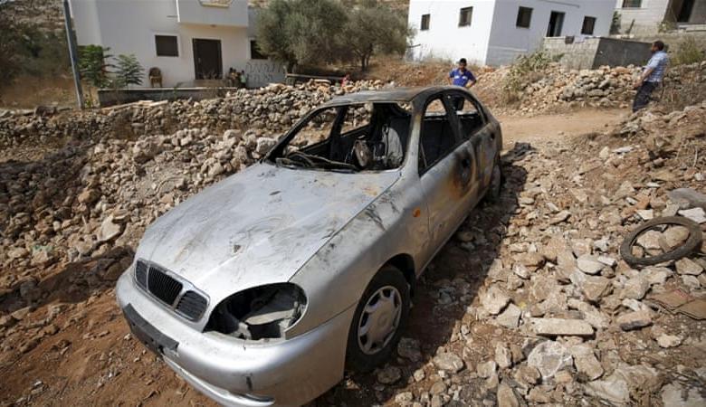 المستوطنون ينفذون هجوما واسعا على قرى في جنوب نابلس