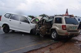 11 إصابة إحداها خطيرة بحادث سير على طريق المعرجات غرب أريحا