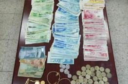 الشرطة تكشف ملابسات سرقة بقيمة 150 الف شيقل في جنين
