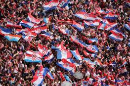 شاهد ..استقبال اسطوري للمنتخب الكرواتي في زغرب