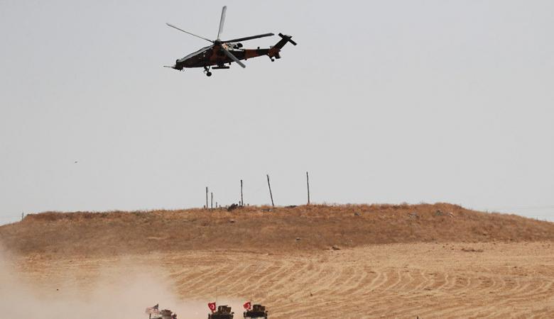 تركيا تعلن اسقاط طائرة عسكرية سورية في ادلب