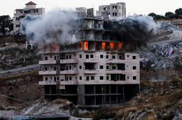 الاحتلال ينهي عمليات الهدم في وادي الحمص