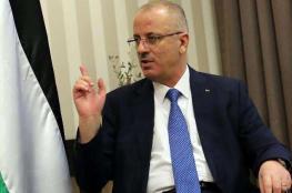 الحمد الله يدين مماطلة الحكومة الإسرائيلية في الإفراج عن القيق ويحملها المسؤولية الكاملة عن حياته