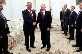 لقاء بين نتنياهو وبوتين الأربعاء المقبل